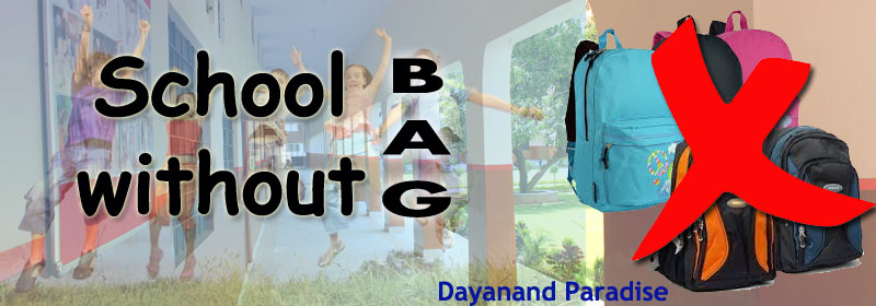 school without bag