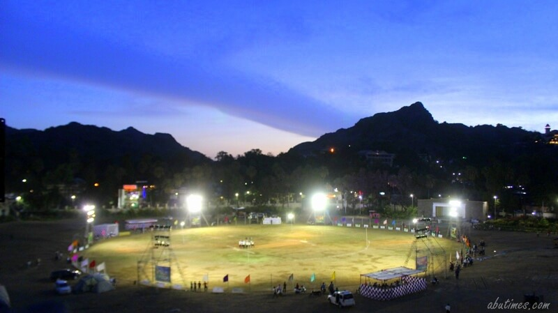 mount abu night cricket tournament 2017