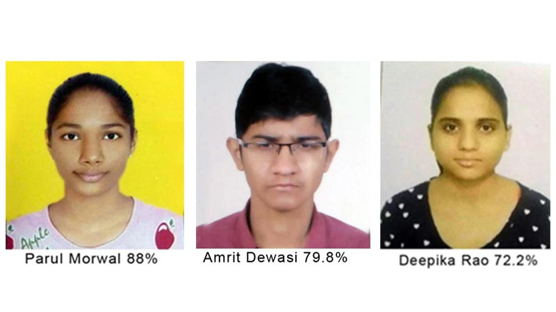 railway school abu road 2017 toppers