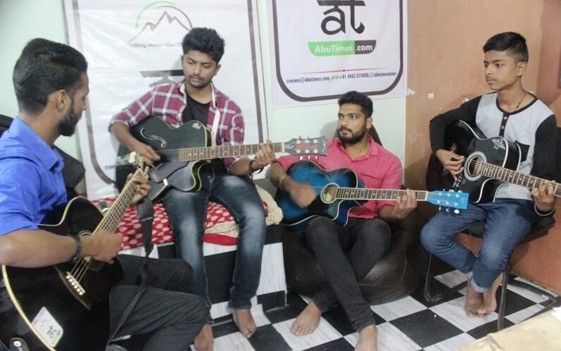 guitar classes mount abu