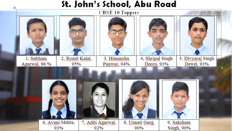 st johns school abu road