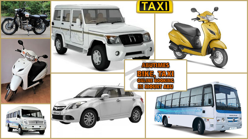 mount abu bike, taxi booking