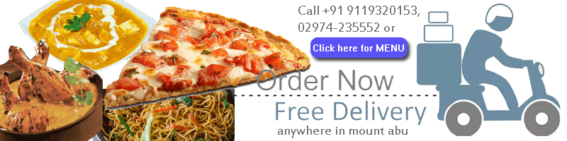 order food online mount abu