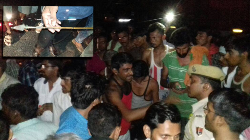 truck driver attacked with on nh 27