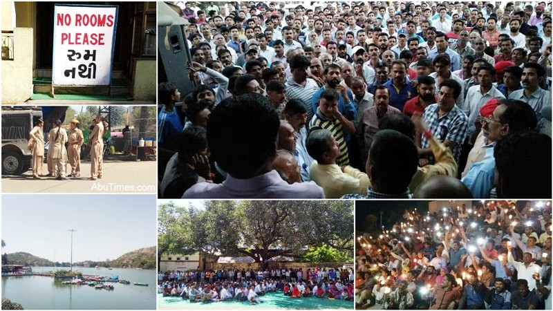 mount abu protest for building bye laws
